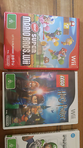 Wii games collection Mount Hawthorn Vincent Area Preview