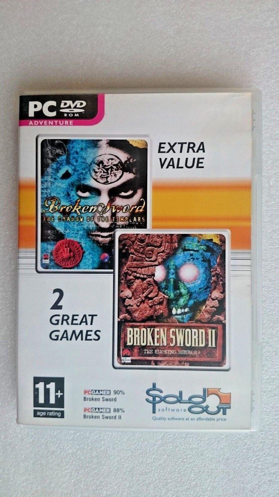 Broken Sword 1 & 2 (PC: Windows, 2005)