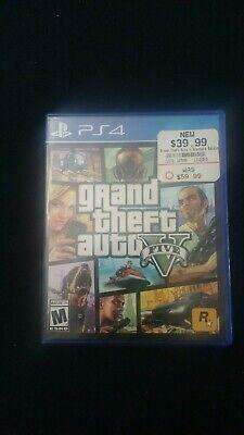 Grand Theft Auto V (Sony PlayStation 4, 2014) FAST FREE SHIPPING!