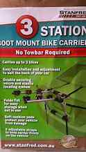 3 Station Boot Mount  Bike Carrier Roxburgh Park Hume Area Preview