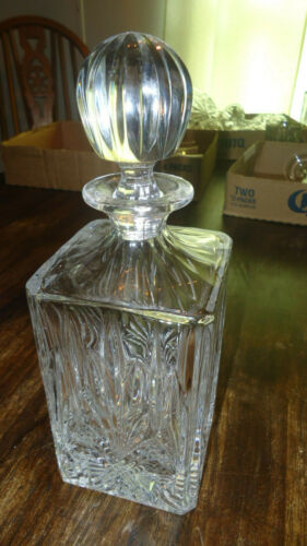 Imperial Estate Crystal Whiskey Decanter