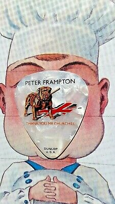 PETER FRAMPTON 2010 Thank You Mr. Churchill Tour guitar pick-JUST LISTED!