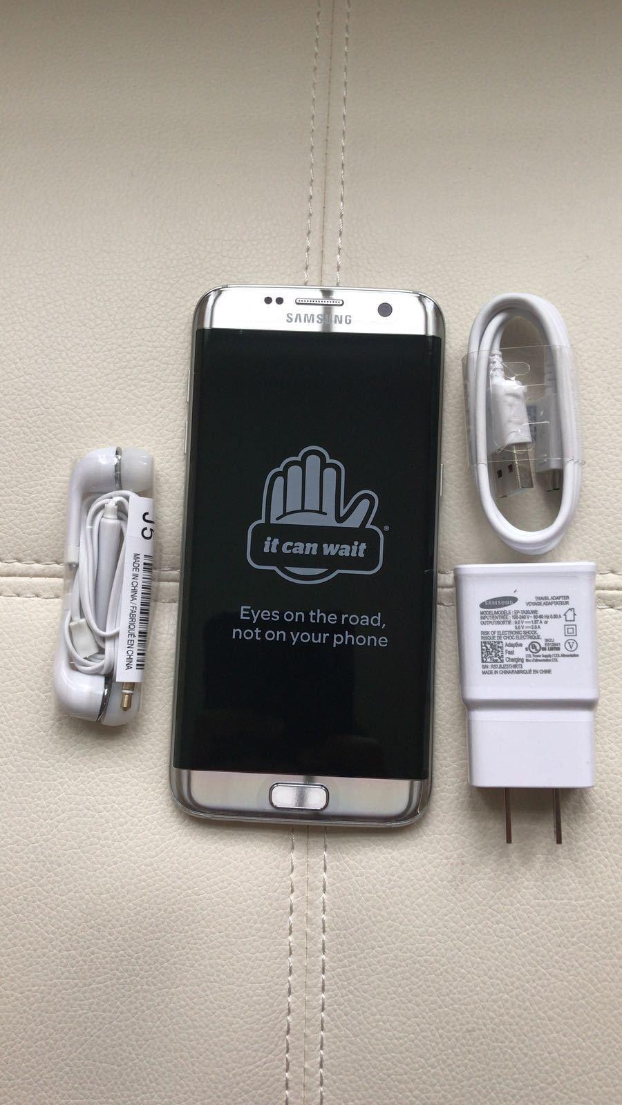 NEW Samsung Galaxy S7 edge G935-32GB-Silver  UNLOCKED Samsun