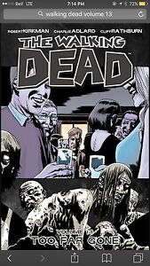 Walking dead volume 13 and 14