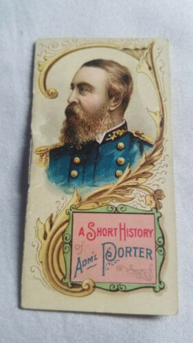 ADMIRAL PORTER W. Duke Sons & Co. Generals A Short History Of VG+