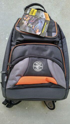 "Klein Tools 55475 Tradesman Pro™ Tool Bag Backpack 35 Pockets Black 17.5"" NEW!!"