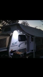 Jayco expanda outback (outdoor shower) bunk model