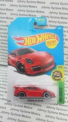 HOT WHEELS PORSCHE 911 GT3 RS COUPE GERMAN HW EXOTICS RED