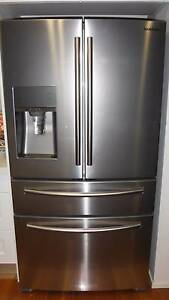 Samsung SRF680CDLS French Door Refrigerator - Purchased August 14 Newcastle Newcastle Area Preview