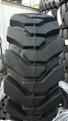 4-tires With Wheels Ty Solid 33x12-20 12-16.5 Skid-steer Loader Tire 331220