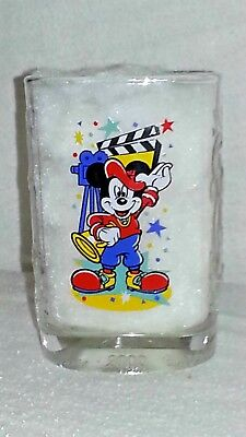 "Walt Disney World 2000 Celebration ""MOVIE DIRECTOR MICKEY"" McDonald's Glass"