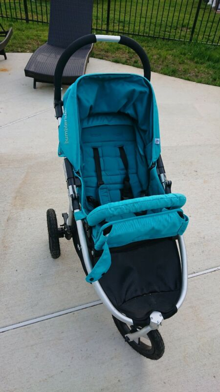 Bumbleride Indie Compact Lightweight All Terrain Stroller Camp - Teal Colour