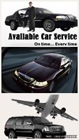 Airport taxi ----sedan SUV limo services 24/7 call 416-407-7355