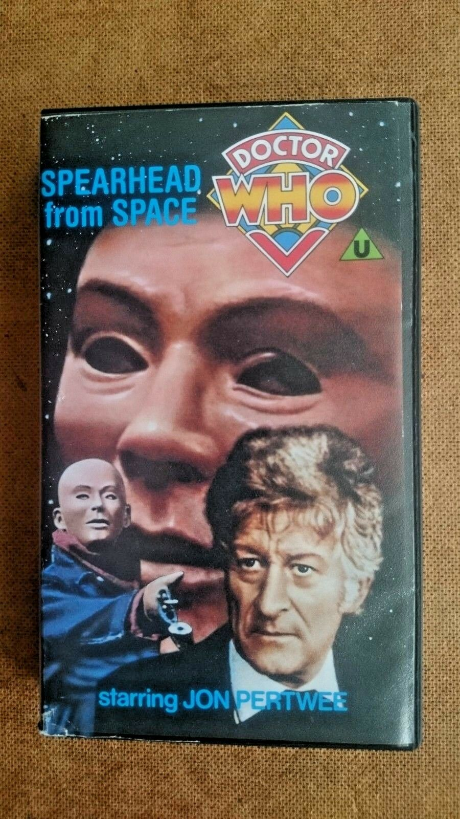 Doctor Who Spearhead from Space (VHS 1988)  Jon Pertwee