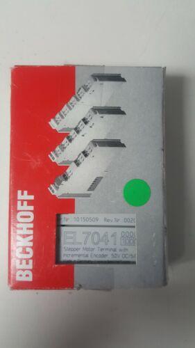 BECKOFF EL7041  STEP MOTOR CONTROLLER