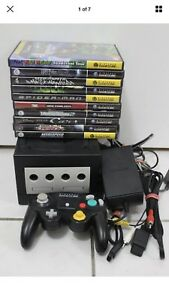 Nintendo Gamecube with 10 games