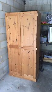 Pine Armoire (wardrobe) Newport Pittwater Area Preview
