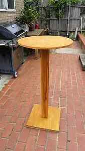 Cocktail table. 5 available. High bar. Timber. Handmade locally. Bentleigh Glen Eira Area Preview