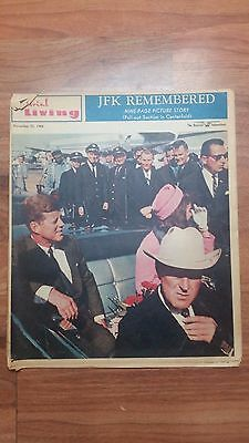November 22, 1964 Pictorial Living (Newspaper Magazine) JFK REMEMBERED 9 Pages