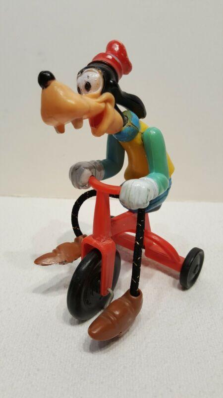 Vintage Gabriel Goofy Tricycle Riding Toy Walt Disney Productions(E)