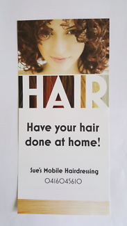 Sue's Mobile Hairdressing