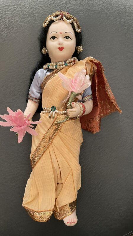 Vintage Hand Made India Khilowna Brand Doll Princess