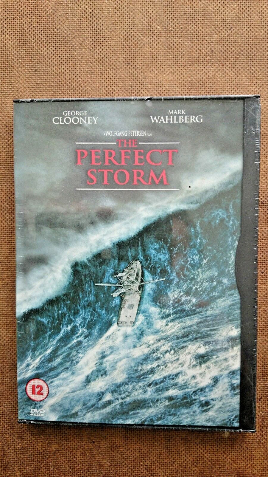 The Perfect Storm (DVD, 2000) - NEW are SEALED - Black Clip Design Case