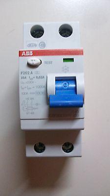 FI Schutzschalter ABB 2polig / F202 A 25/0,03