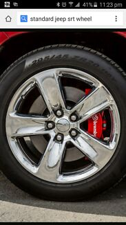Genuine 20x10 JEEP SRT  & run flat perelli tyres City North Canberra Preview