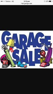 Garage Sale Saturday 23rd