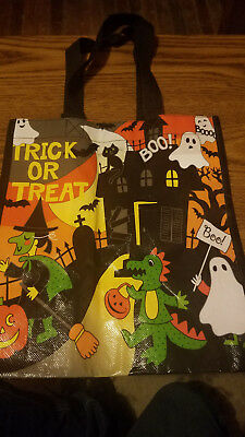 Halloween Scary Scene Childrens Trick or Treat Bag, Reuseable Shopping bag/Tote](Scary Halloween Scenery)