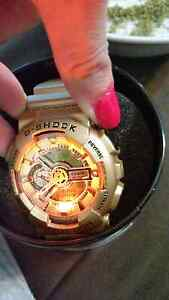 Gold G Shock Classic  Mens and Womens Watches. Carramar Wanneroo Area Preview