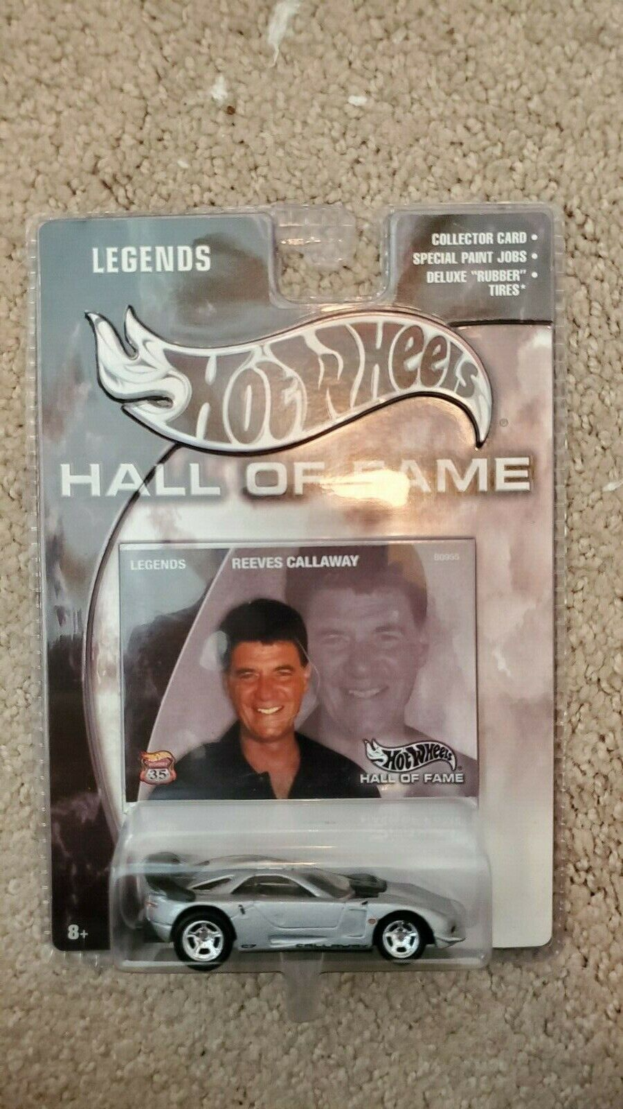 Hot Wheels Hall Of Fame Callaway C7 - Reeves Callaway - $8.00