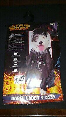 STAR WARS Darth Vader Pet Costume Size M 14 - 16