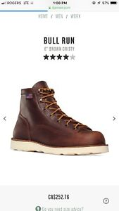 Danner 6inch leather boots