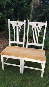 Unique Twin Chair Bench Seat Tingalpa Brisbane South East Preview