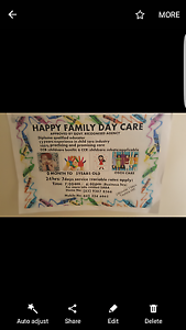 HAPPY FAMILY DAY CARE Taylors Hill Melton Area Preview