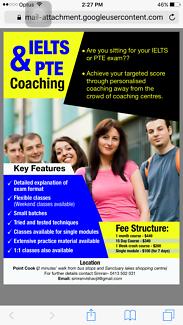 IELTS/PTE coaching classes