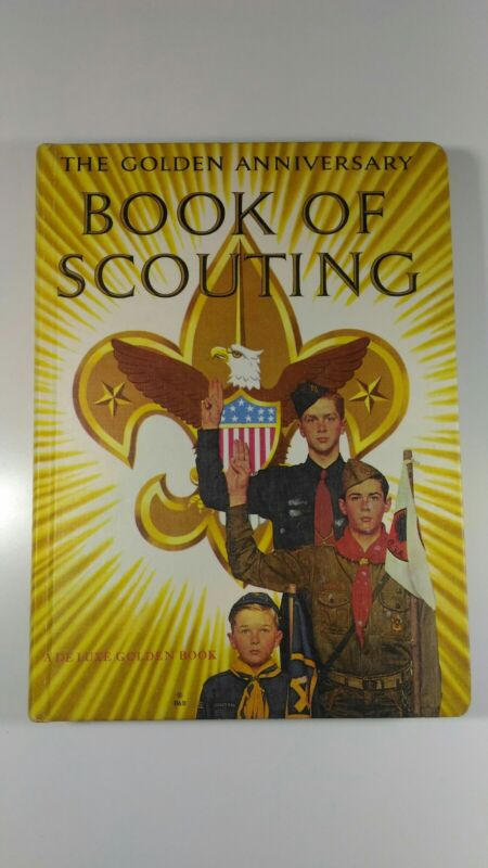 The Golden Anniversary Book Of Scouting  Hardcover 1959