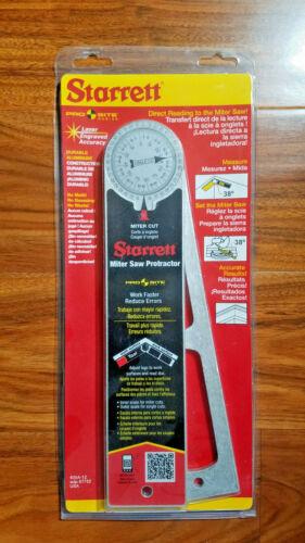 "NEW - Starrett 505A-12 12""  - 300mm Aluminium Miter Protractor"