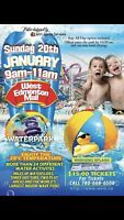 Waterpark tickets $15/person