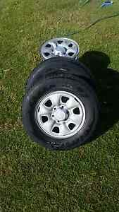 Hilux 4x4 rims and tyres Mount Barker Plantagenet Area Preview