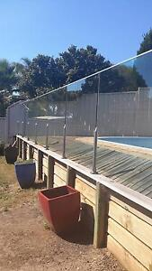 POOL FENCE GLASS PANELS Mount Annan Camden Area Preview