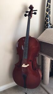 4/4 Like new Cello for sale.