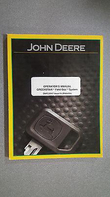 John Deere Ompc20437 Operators Manual - Greenstar Field Doc System