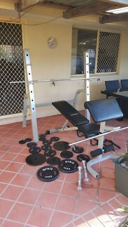 AVANTI Squat rack + bench press + lots of weights  Carindale Brisbane South East Preview