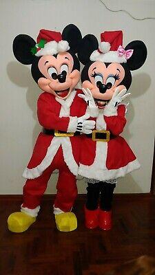 Disfraz Mickey y Minnie Navidad Hermosos Trajes De Lujo, usado segunda mano  Embacar hacia Argentina