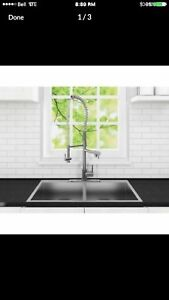 Kitchen faucet- brand new