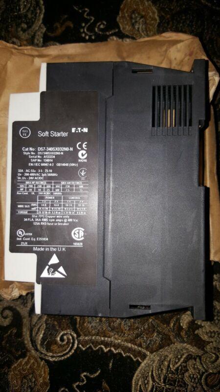EATON DS7-340SX032N0-N Soft Start Controller,32A,240/480VAC.