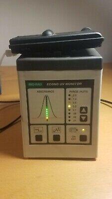 Bio Rad Econo Uv Monitor Model Em-1 701br Fplc Detector Biorad